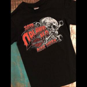 Harley Davidson 2015 Bike Week Skull Ride T-Shirt